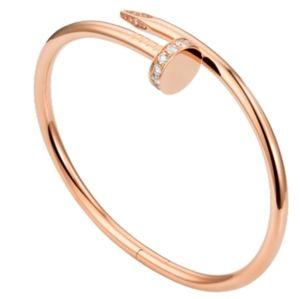 NEW Nail 18K Rose Gold Filled Bangle